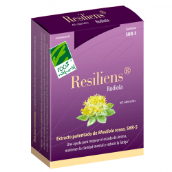 RESILIENS RODIOLA - 40 CÁPSULAS [100%NATURAL]