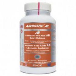 Vitamina C No Ácida Liberación Sostenida - 90 capsules [Airbiotic]