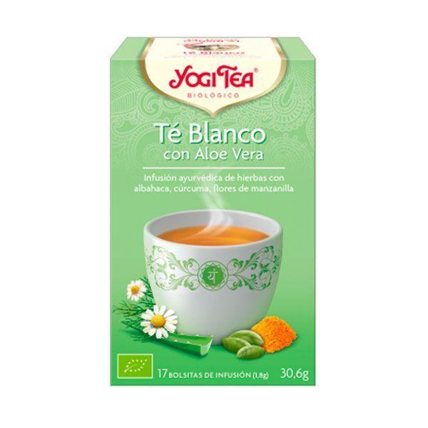 Té Blanco con Aloe Vera - 17 Bolsitas