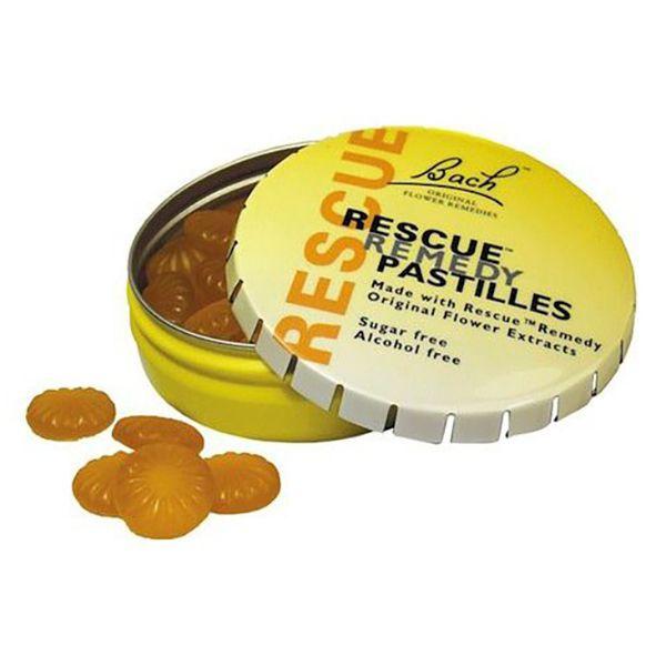 Rescue Pastillas sabor Naranja-Sauco - 50gr
