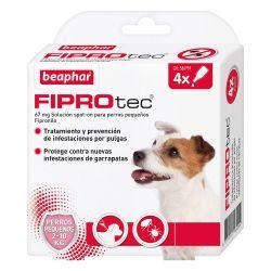 Fiprotec Spot On Perro 2-10kg (4x0.67ml)