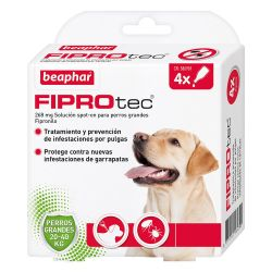 Fiprotec Spot On Perro 20-40kg (4x2.68ml)