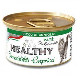 Cat Irresist Capricci Conejo 85gr
