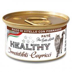 Cat Irresist Capricci Ternera-Queso 85gr
