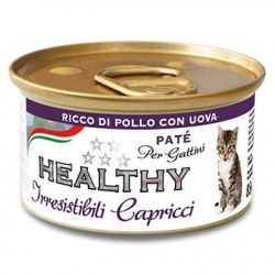 Cat Irresist Capricci Kitten Pollo-Huevo 85gr