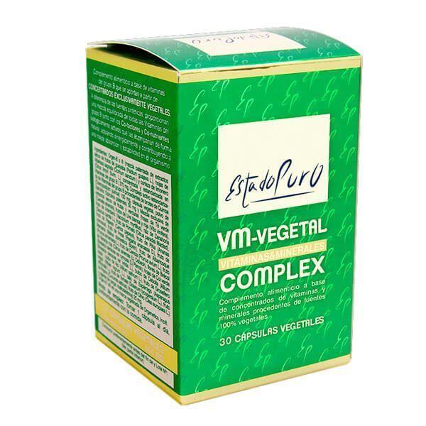 Estado Puro VM-Vegetal Complex - 30 Cápsulas
