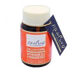 Estado Puro Cálcio Coral com Vitamina D3 + Magnésio - 120 cápsulas