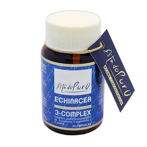 Estado Puro Echinacea 3-Complex - 30 Cápsulas