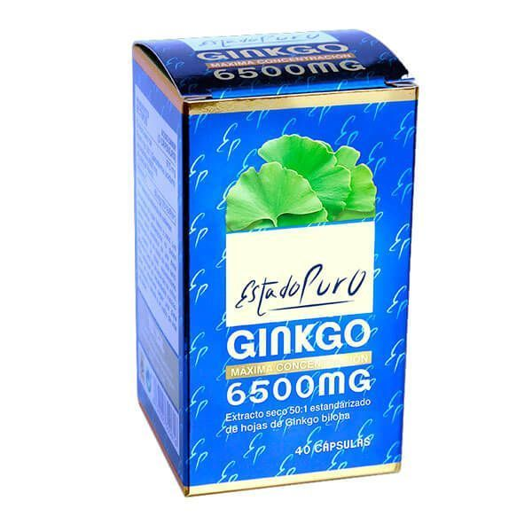 Estado Puro Ginkgo 6500mg - 40 Cápsulas