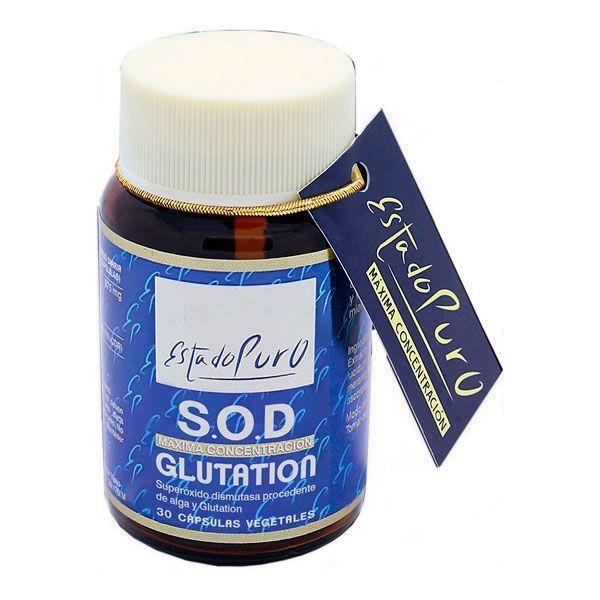 Estado Puro S.O.D Glutation - 30 Cápsulas