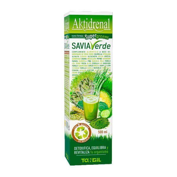 Aktidrenal Savia Verde - 500ml