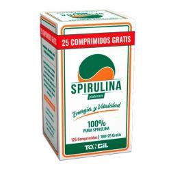 Espirulina - 125 Tabletas
