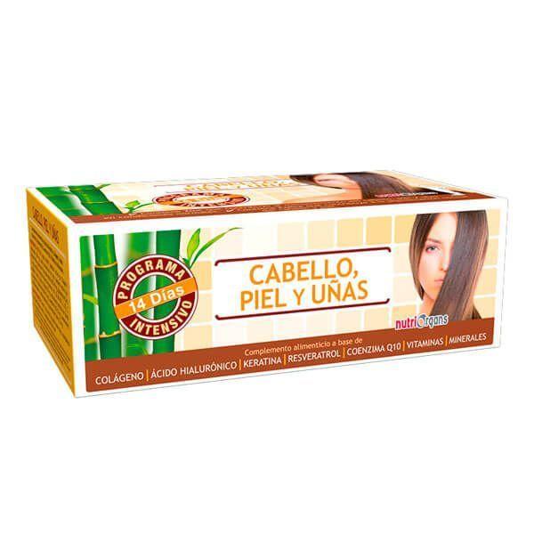 Nutriorgans Cabello, Piel y Uñas - 14 Viales