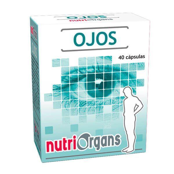 NutriOrgans Ojos - 40 Cápsulas
