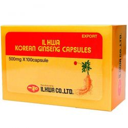 Korean ginseng il hwa - 100 capsules
