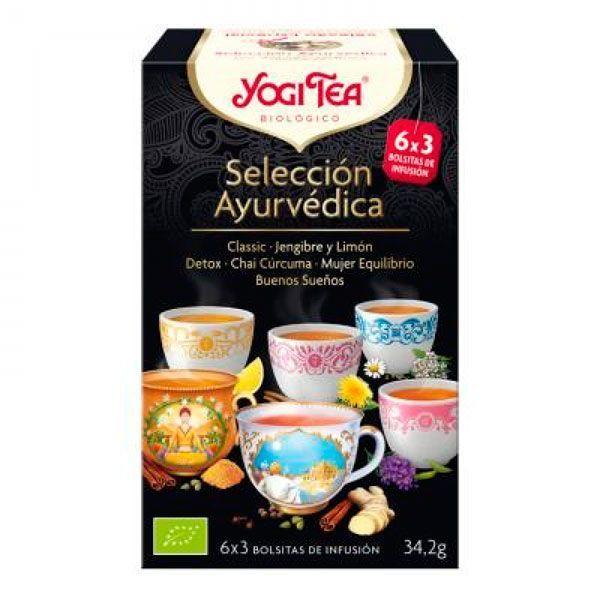 Yogi Tea Selección Ayurvédica - 18 Bolsitas Variadas