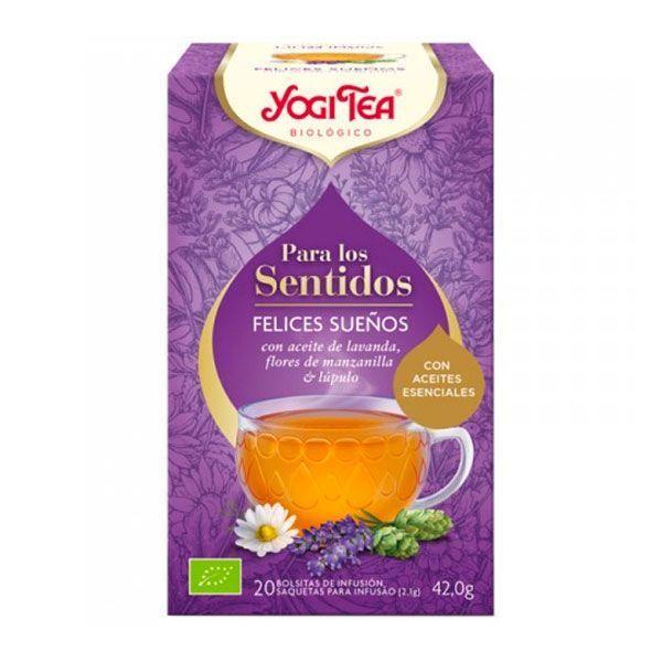 Yogi Tea Para los Sentidos Felices Sueños - 20 Bolsitas