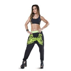 malla calÇa sweat green