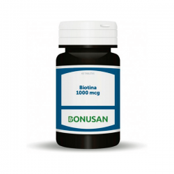 Biotina 1,000mcg - 60 tabletas