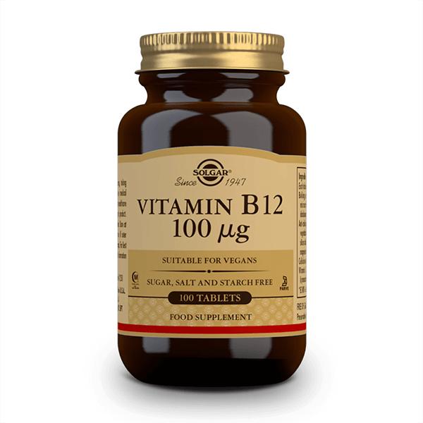 Vitamina B12 1000mcg - 100 Tabletas masticables