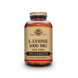 L-Lysina 1000mg - 250 Tabletas [Solgar]