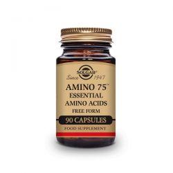 Amino 75 Aminoácidos Esenciales - 90 Cápsulas [Solgar]