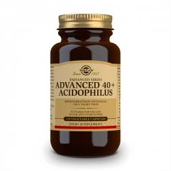 Avanzada  40+ Acidophilus - 120 Cápsulas Vegetales