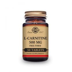 L-Carnitina 500mg - 30 Tabletas [Solgar]