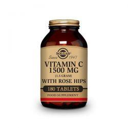 Vitamina C 1500mg con Escaramujo - 180 Tabletas [Solgar]
