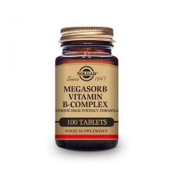 Megasorb Vitamina B-Complex 50 - 50 Tabletas [Solgar]