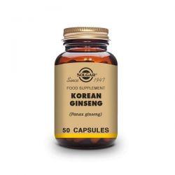 Ginseng Coreano - 50 Cápsulas [Solgar]