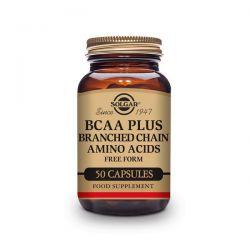 BCAA Plus - 50 Cápsulas [Solgar]