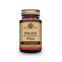 Folato 400mg - 100 Tabletas [Solgar]