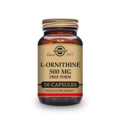 L-Ornitina 500mg - 50 Cápsulas [Solgar]