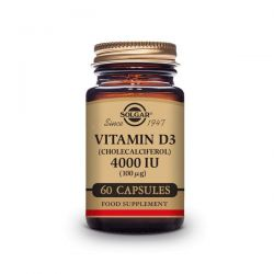 Vitamin d3 (cholecalciferol) 4000 iu (100mg) - 60 capsules