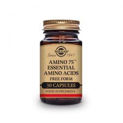 Amino 75 Aminoácidos Esenciales - 30 Cápsulas [Solgar]