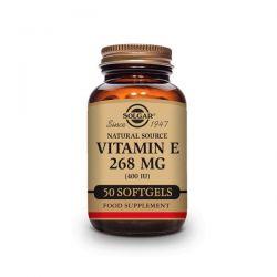 Vitamina E 400 IU (268mg) - 50 Cápsulas blandas vegetales [Solgar]