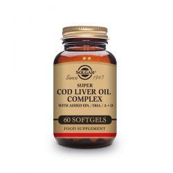 Complejo de Aceite de Hígado de Bacalao - 60 Softgels [Solgar]