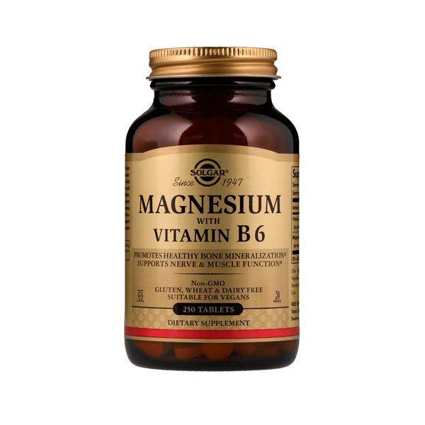 Magnesio con Vitamina B6 - 250 Tabletas