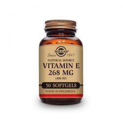 Vitamina E 400 IU (268mg) - 50 Softgels [Solgar]