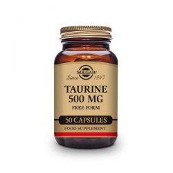 Taurina 500mg - 50 Cápsulas [Solgar]