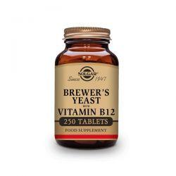 Levadura de Cereza con Vitamina B12 - 250 Tabletas [Solgar]