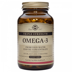 Omega 3 Triple Concentración - 50 Softgels [Solgar]