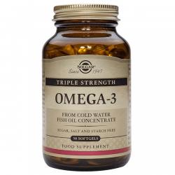 Triple strength omega-3 - 50 softgels