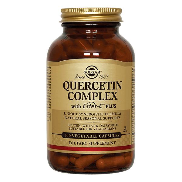 Complejo de Quercetina con Ester C - 100 cápsulas vegetales [Solgar]