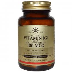 Vitamin k2 100mcg - 50 vegetable capsules