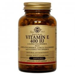Vitamina E 400IU - 100 softgels [Solgar]