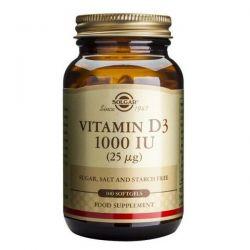 Vitamina D3 1000IU - 100 softgels [solgar]