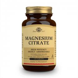 Citrato de Magnesio - 120 Tabletas