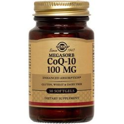 Coq10 - 100mg - 30 softgels [solgar]